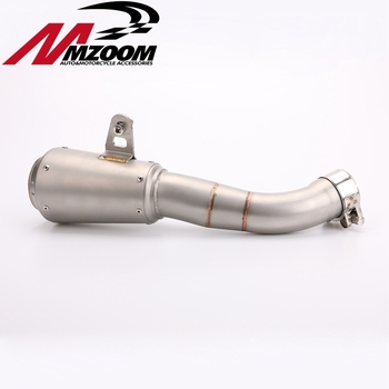Motorcycle Stainless steel pipe connected to the rotary pipe Exhaust pipe Silencer for yamaha R3 YZF-R3 R25 2016 2017