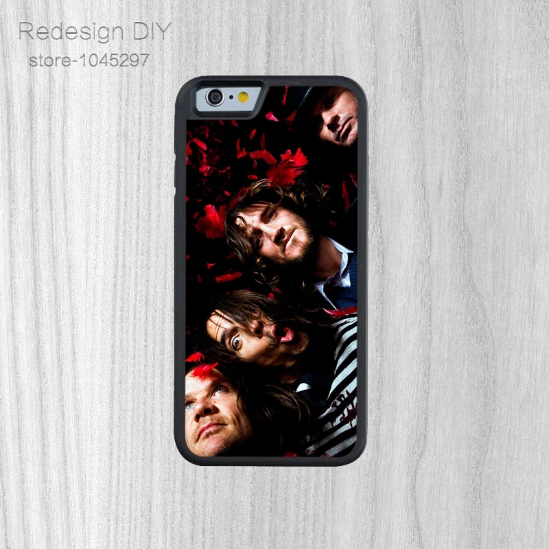 Vintage Lüks red hot chili peppers stil Kapak Shell Için iPhone 6 6 s Ve 4 4 s 5 5 s 5c 6 Artı telefon kılıfları